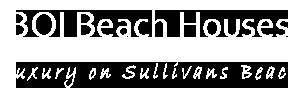 Bay of Islands Beach Houses Logo